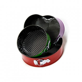 3 Piece Non-Stick Springform Tin Set