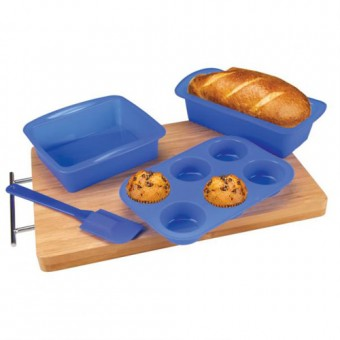 4 Piece Silicone Baking Set