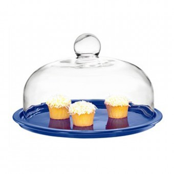 Chasseur La Cuisson Cake Platter with Lid