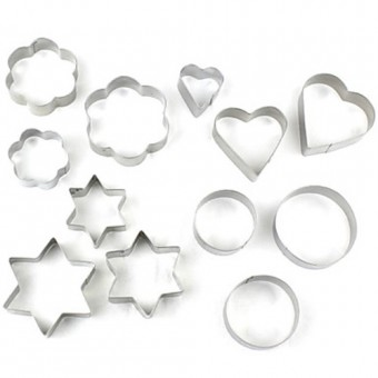 Cookie Cutter Set of 12