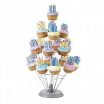 Wilton 19 Piece Explosion Cupcake Stand